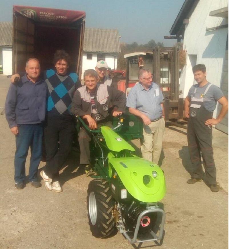 Isporuka poljoprivredne mehanizacije