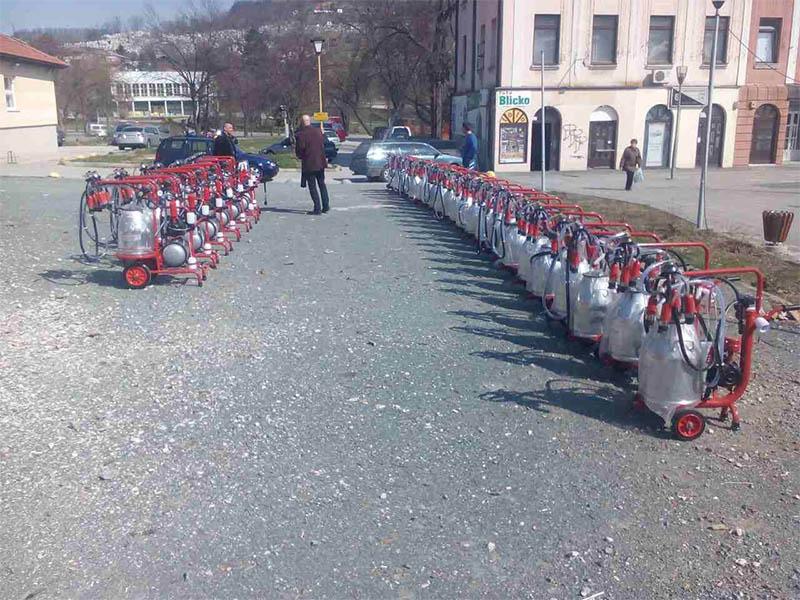 Isporuka muzilica i opreme u Tuzli