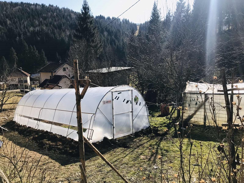 Isporuka i montaža plastenika 19.02.2020. Travnik