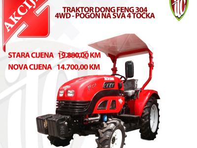 Još samo 1 traktor po akcijskoj cijeni